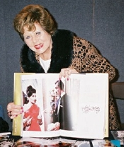 Eunice Gayson with Bond Girls book