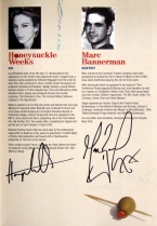 'Absurd Person Singular' - programme signed by the cast