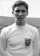 Alan Ball wins his first England cap in 1965