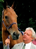 Geoff Sanderson with Quixall Crossett