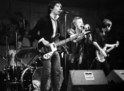 The Sex Pistols on stage