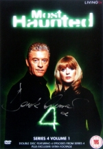 Derek Acorah signature on DVD cover