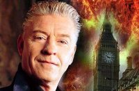 Image of Derek Acorah in 'Bizarre' magazine
