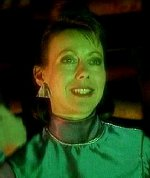Jenny Agutter as Professor Mamet in 'Red Dwarf'