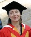 Jenny Agutter is honoured with a D.Litt degree from Bradford University