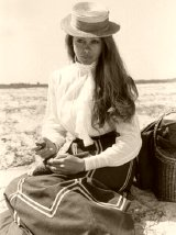 Jenny Agutter as Clara in 'The Riddle of the Sands'