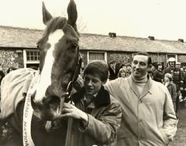 Aldaniti with Peter Double and Nick Embiricos