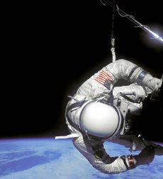 Buzz Aldrin's 'space walk' on the Gemini 12 mission