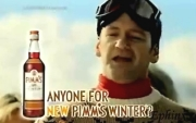 Alexander Armstrong in a commercial for the drink 'Pimms'