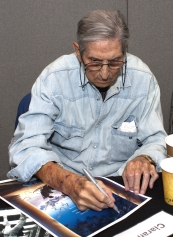 Bob Anderson signing at Collectormania London in 2011