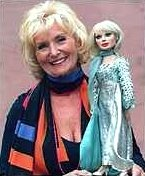 Sylvia Anderson with Lady Penelope