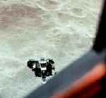 Apollo 10 Lunar Module 'Snoopy' as seen from the Command Module 'Charlie Brown'