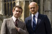 Martin Freeman & Alexander Armstrong in 'Micro Men'