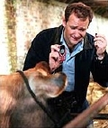 Alexander Armstrong as Nick the vet in 'Beast'