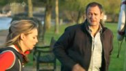 Sarah Alexander & Alexander Armstrong in 'Mutual Friends'