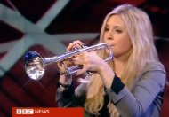 Alison Balsom performing 'Nobody Knows the Trouble I See' on BBC Breakfast in 2012