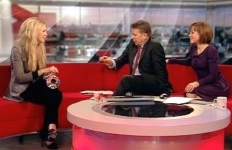 Alison Balsom interviewed by Bill Turnbull & Sian Williams on BBC Breakfast (2012)