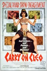 Poster for 'Carry On Cleo'