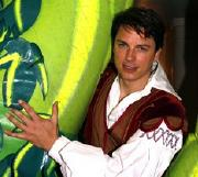 John Barrowman in 'Jack and the Beanstalk' at the New Theatre Cardiff (2006-07)