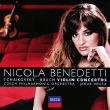 Nicola Benedetti CD of violin concertos by Bruch and Tchaikovsky (2010)