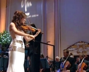 Nicola Benedetti playing Szymanowski's 1st violin concerto in the final of the 2004 'Young Musician of the Year' competition
