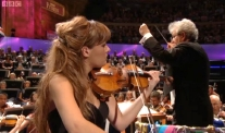 Nicola Benedetti playing 'The Gadfly' at the Last Night of the Proms in 2012