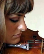 Nicola Benedetti with the 'Gariel' Stradivarius violin