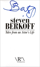 Signed title page of Steven Berkoff's book 'Tales from an Actor's Life'
