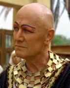 Steven Berkoff as Potiphar in In The Beginning
