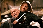 Steven Berkoff in The Headsman