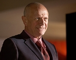 Steven Berkoff as Mr Wiltshire in Hotel Babylon