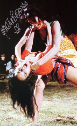 Martine Beswick signed photo as Zara in 'From Russia With Love'