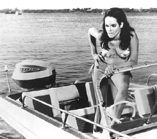Martine Beswick as Paula Caplan in 'Thunderball'