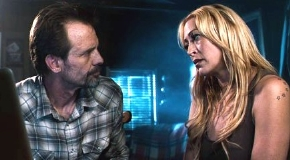 Michael Biehn with his wife Jennifer Blanc-Biehn in 'The Victim' (2011)