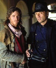 Eric Close & Michael Biehn in 'The Magnificent Seven' (1998-2000)