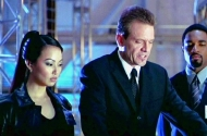 Linda Kim & Michael Biehn in 'Clockstoppers' (2002)