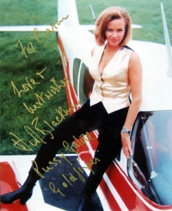 Honor Blackman signed photo