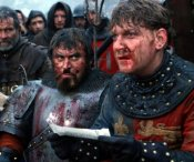 Brian Blessed & Kenneth Branagh in 'HenryV'