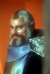Brian Blessed as Mentor in 'Space:1999'