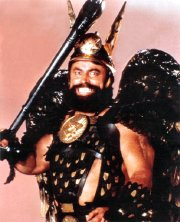 Brian Blessed as Prince Vultan in 'Flash Gordon'