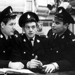 Colin Welland, Joseph Brady & Brian Blessed in 'Z Cars'