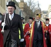 Chris Bonington installed as Chancellor of Lancaster University