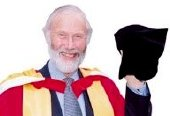 Chris Bonington receives an honorary degree from Bradford University