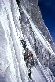 Chris Bonington's photograph of fellow climber Ian Clough on Annapurna in 1970