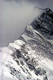 Chris Bonington's photograph of the NNE Ridge of Mount Everest, 1982