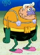 Mermaid Man from 'SpongeBob Square Pants'