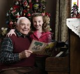 Ernest Borgnine & Juliette Goglia in 'A Grandpa for Christmas'