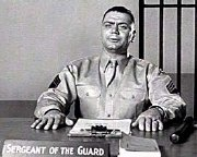 Ernest Borgnine as Sgt 'Fatso' Judson in 'From Here to Eternity'