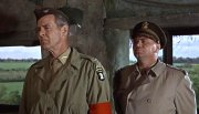 Robert Ryan & Ernest Borgnine in 'The Dirty Dozen'