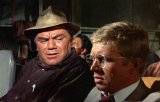 Ernest Borgnine & Hardy Kruger in 'The Flight of the Phoenix'